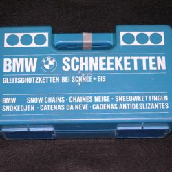 BMW factory snow chains 2002