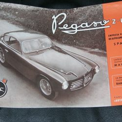 Sales leaflet Pegaso Z102 of 1953