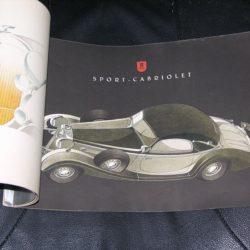 Auto Union Horch 853 Sales Catalog 1939