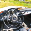 Mercedes 230SL like new interior Italy