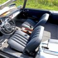 230SL fully restored interior Italy