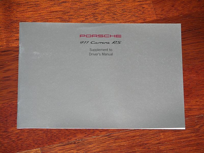 porsche literature kark classics rh karkclassics com 1995 porsche 993 owners manual pdf Porsche 996
