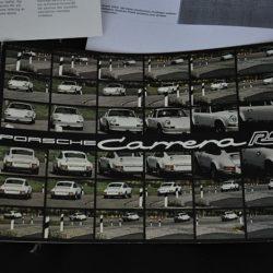 Porsche Carrera RS Sales Brochure German Text
