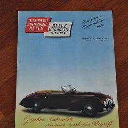 Revue Automobil Automobile 1947 No.1